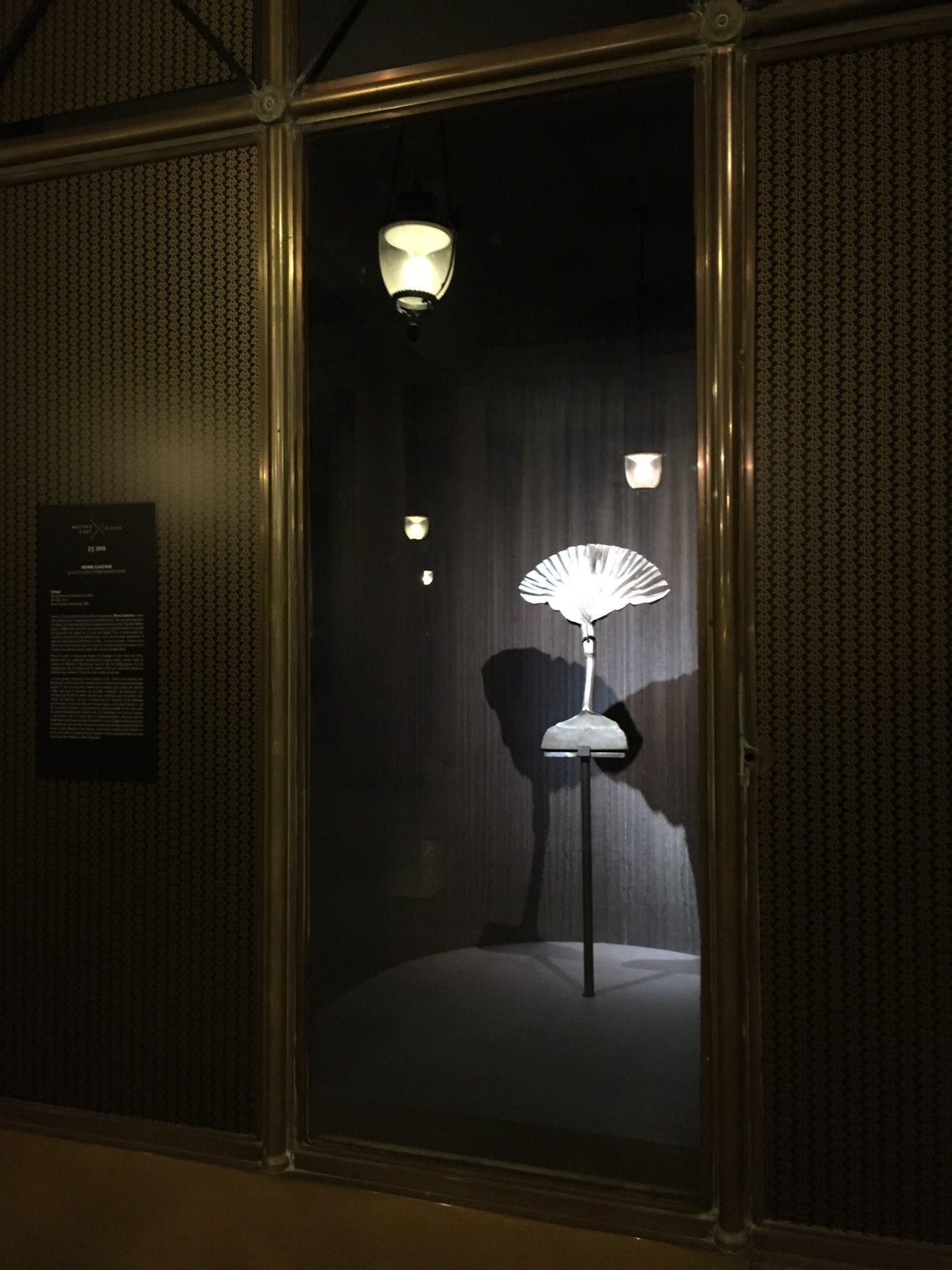 Exposition 25 ans du titre de Maître d'Art dans les vitrines du Ministère de la Culture au Palais Royal