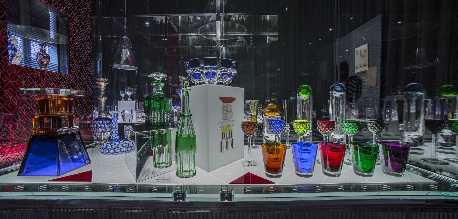 Exposition Baccarat 250 ans Musée Baccarat