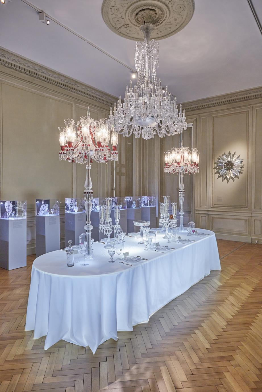 Exposition Baccarat Cristal de légende Institut Bernard Magrez Bordeaux