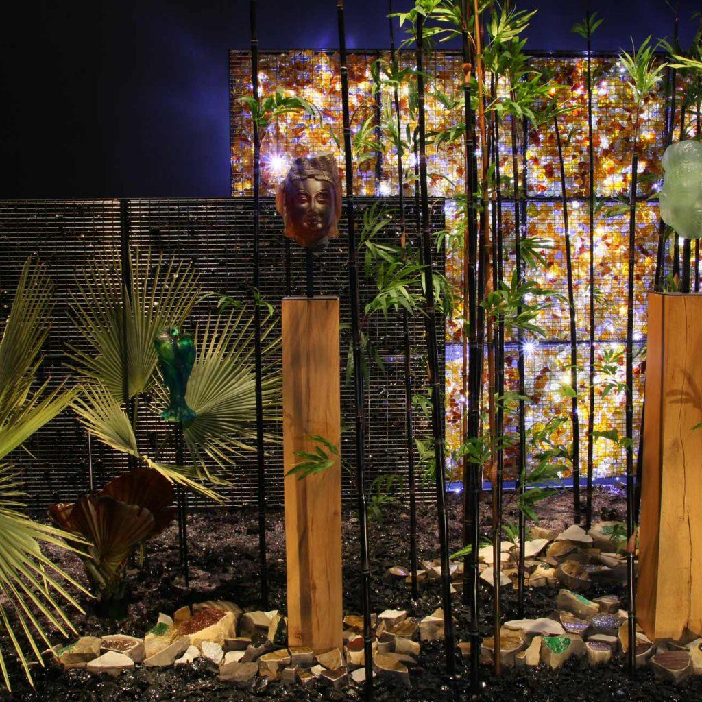 Exposition jardin de cristal à Bagatelle 2008