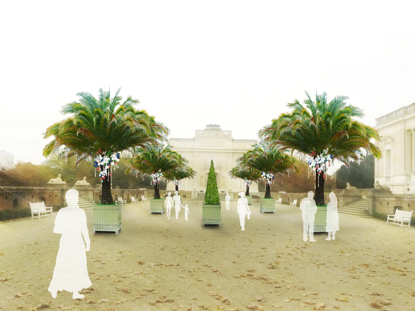 Exposition Jardin de cristal à Bagatelle