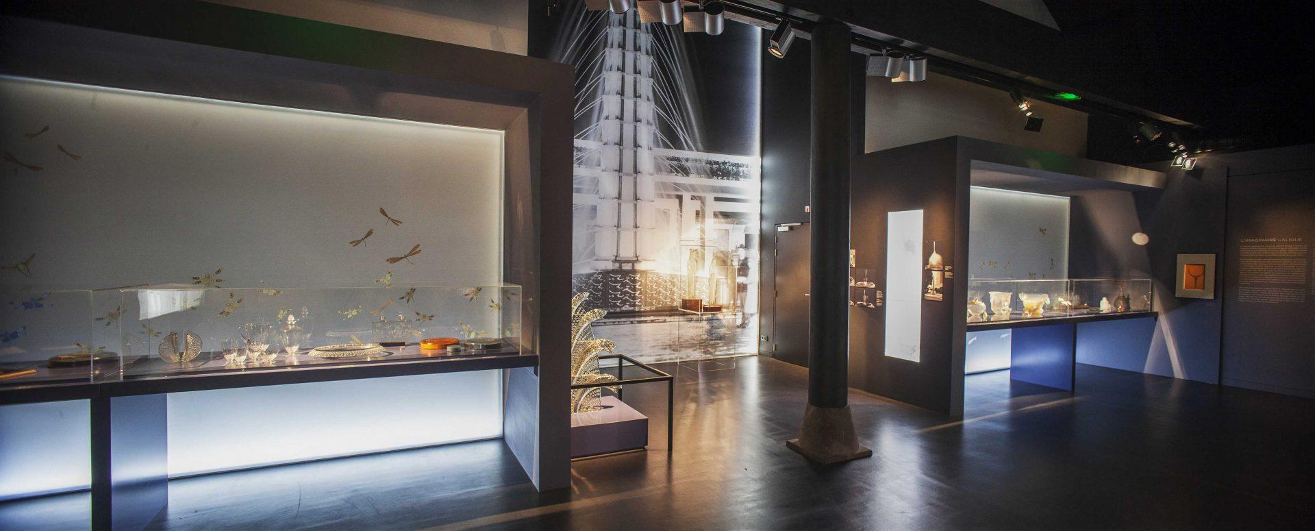 Exposition Réné Lalique et le monde aquatique Musée lalique