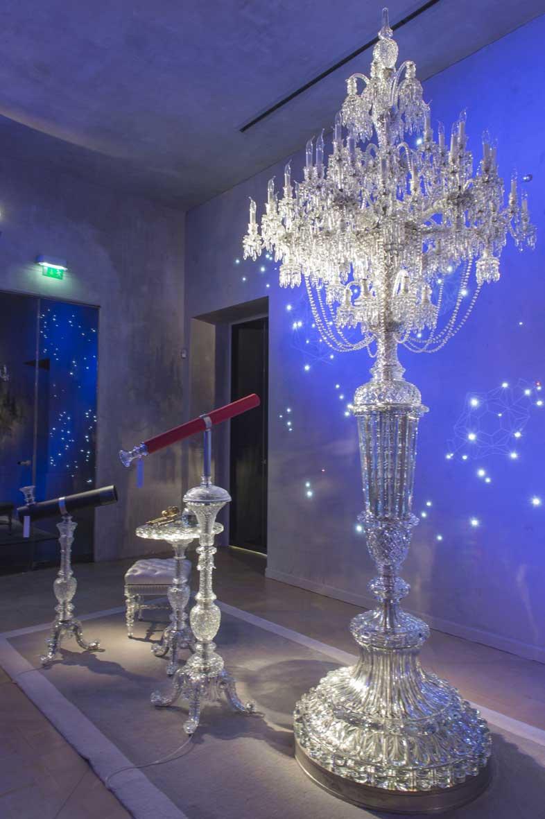 Exposition Taillé sur mesure Musée Baccarat Paris