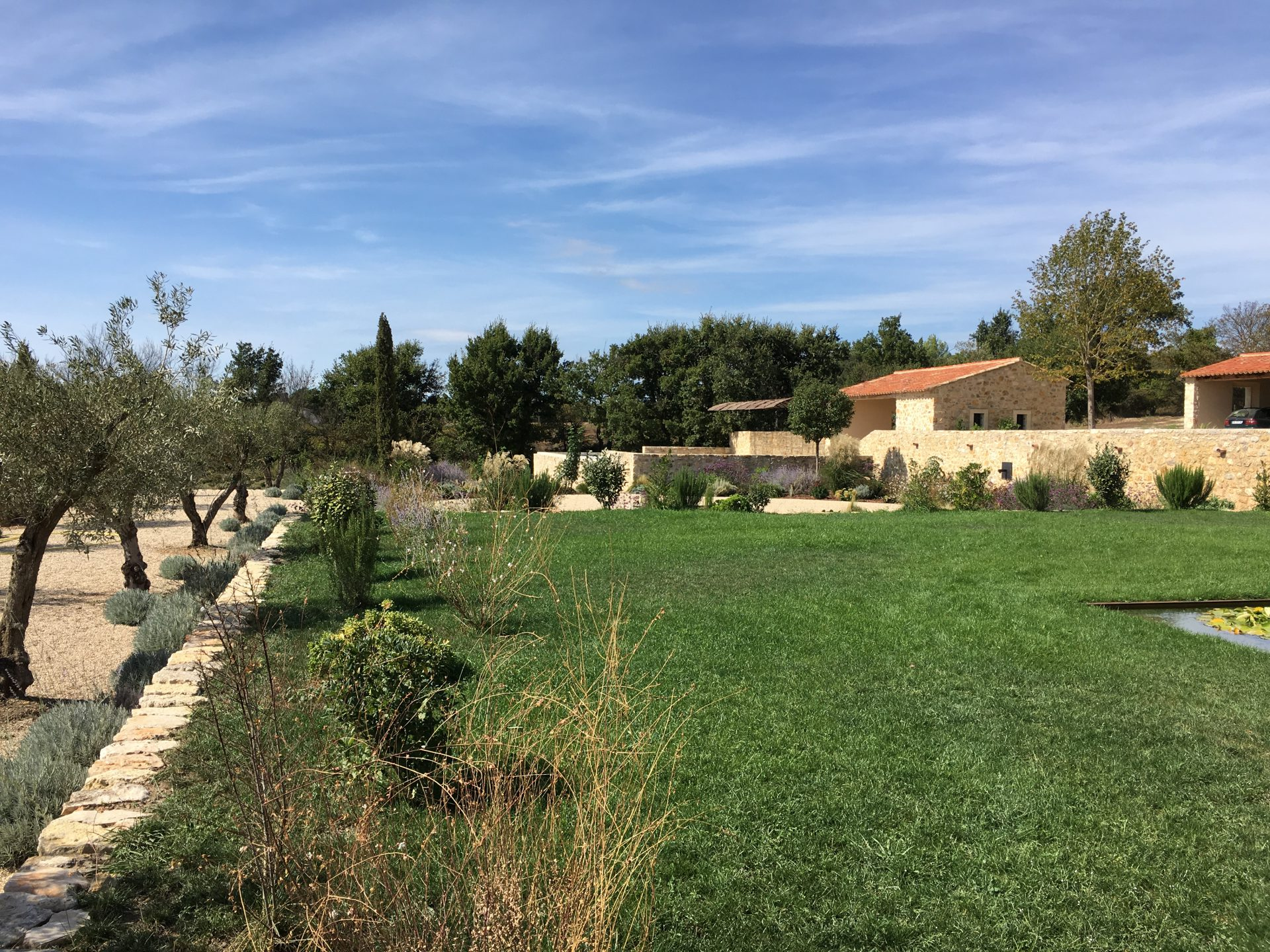 Jardin privé en Provence