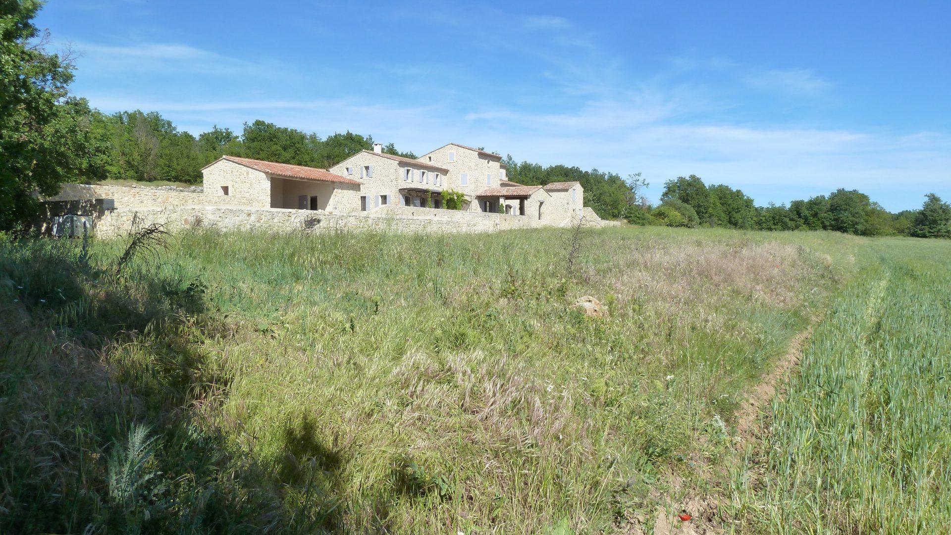 Jardin privé en Provence - Avant