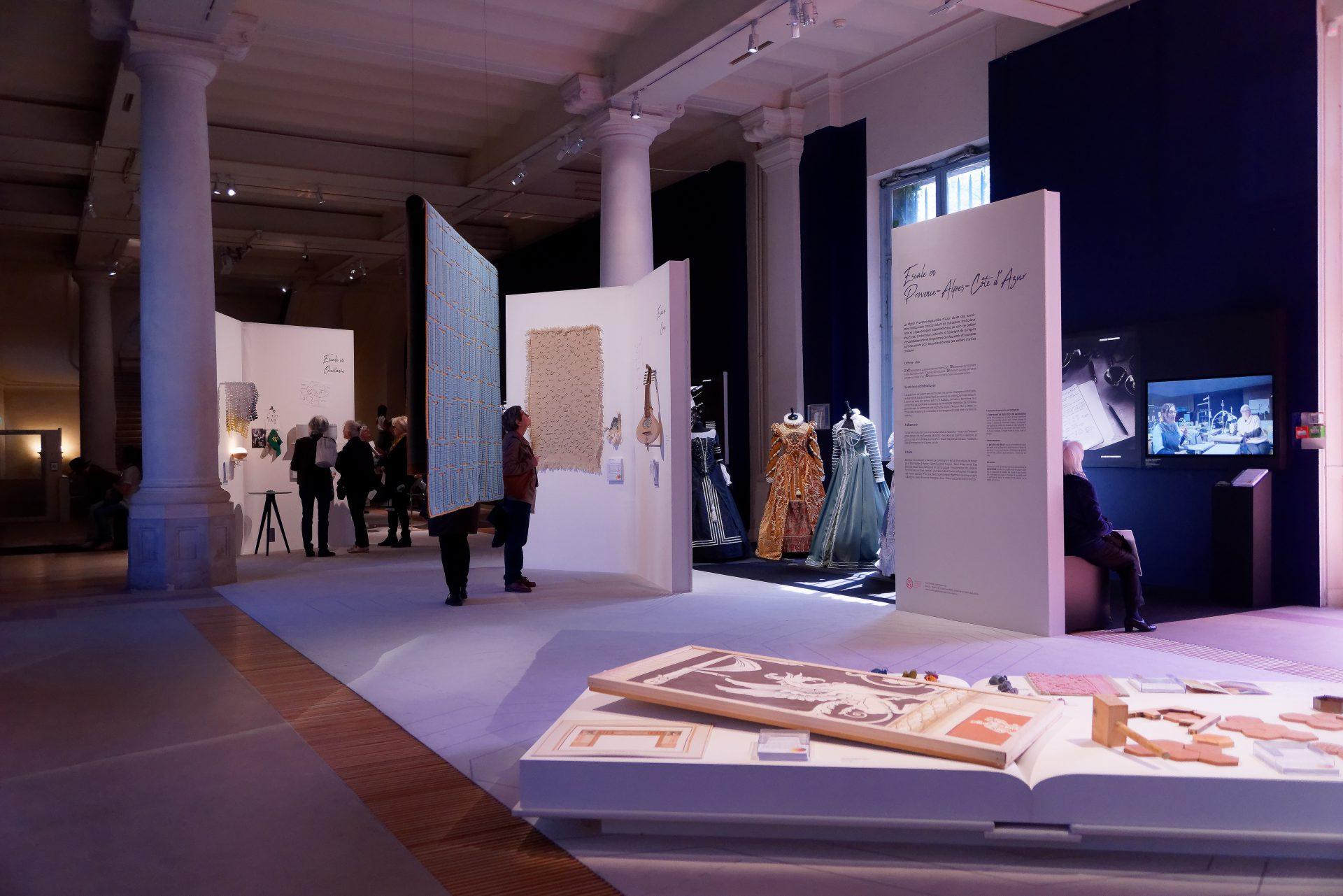 Photos expo Métiers d'art Manufacture des Gobelins