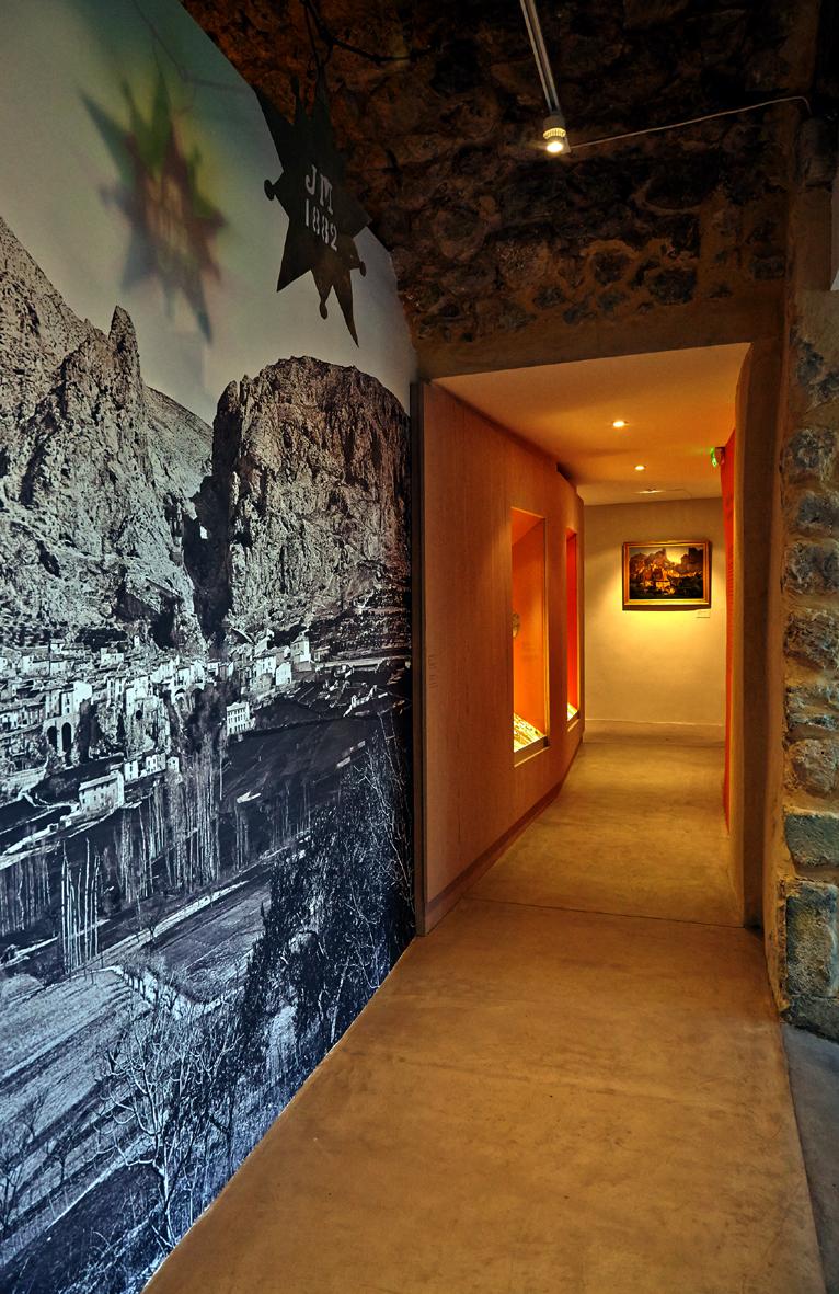 Réaménagement du Musée de la faïence de Moustiers Sainte Marie