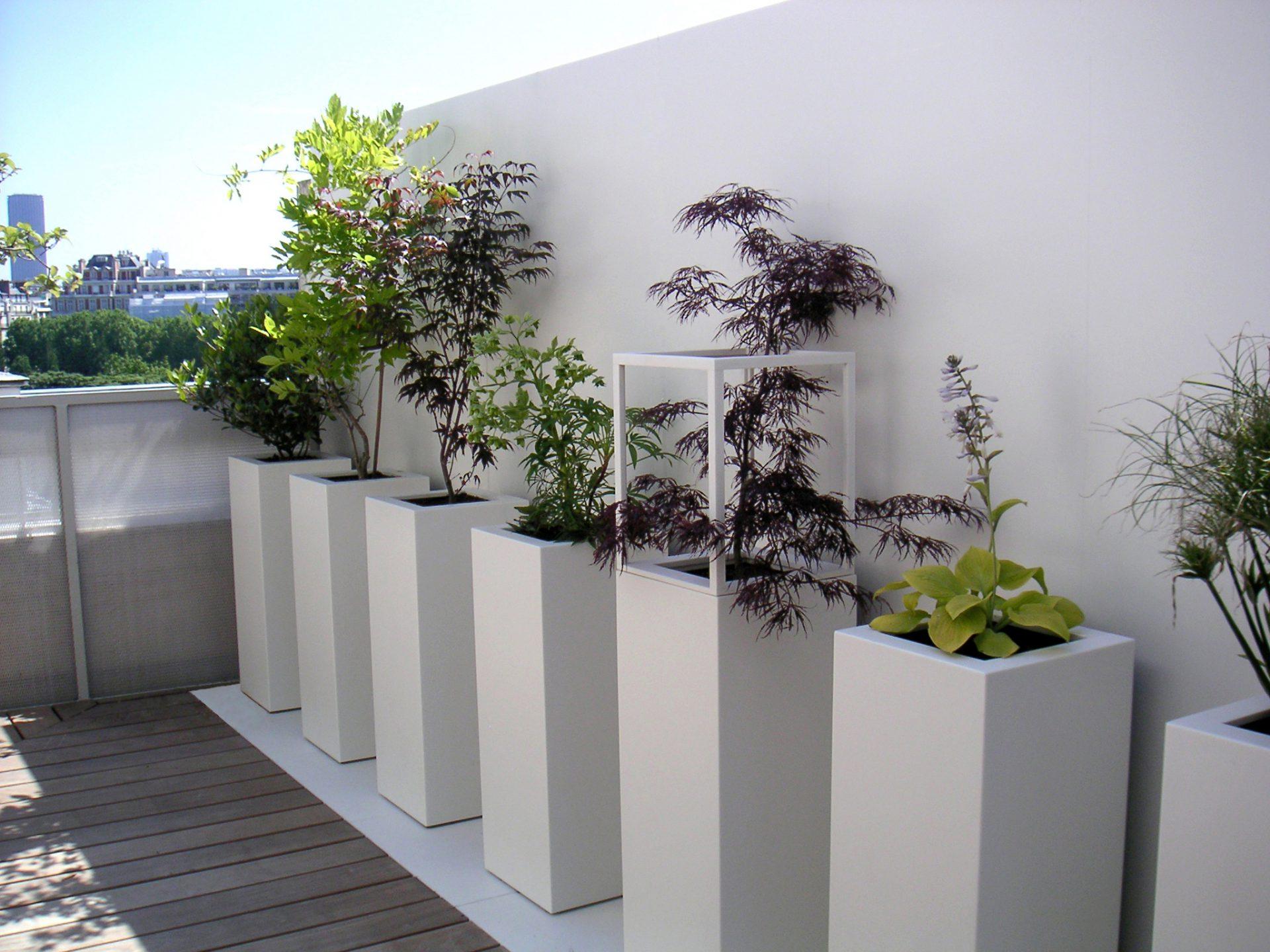 Terrasse privée à Paris